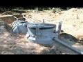 L'installation d'une microstation de traitement des eaux usées - Bricolage avec Robert
