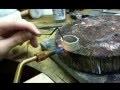 Fabrication d'un jonc martelé