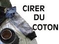 Imperméabiliser du coton | Recette avec Cire d'Abeille