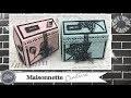 """Vidéo-Tuto """"Maisonnette Couture"""" par Coul'Heure Papier"""