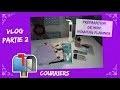 """Vlog 131 """"partie 2"""" - Courriers suite / Préparation Nouveau Planner / Blabla"""