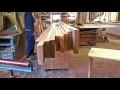 Fabrication artisanale de plan de travail en chêne massif - Partie 1