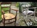 CHAISE EN PAILLE : Faire son assise #3