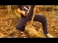 Fabrication siège bushcraft - Libres&Natures - Lucas
