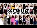 Idées de COSTUMES de dernière minute ♡ Halloween 2015
