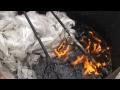 Production des pavés à partir des déchets plastiques