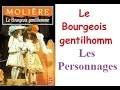 Travaux encadrés : les personnages dans le Bourgeois Gentilhomme