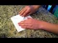 """Comment faire un shadock/""""coincoin"""" en papier"""
