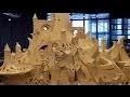 """â–º Réalisation """"In Situ"""" par le sculpteur de sable Dale Murdock (Beaubourg)"""
