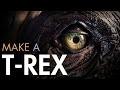 Make A Dinosaur T-Rex Foam Fabrication Part 3 - PREVIEW