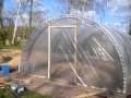 Permaculture - Construction d'une serre de 26 m2 pour 250€