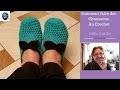 Comment faire une paire de chausson au crochet (1ere Partie)