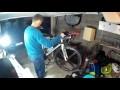 Je fabrique mon pied de montage vélo