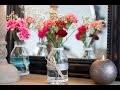 Bricolage facile : DIY Vase champêtre centre de table