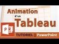 Tutoriel Ms PowerPoint || Animation d'un tableau