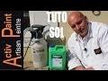TUTO COMMENT NETTOYER UNE TERRASSE ENCRASSER sans eau de javel NETTOYANT BIO DEGARDABLE ACTIV PAINT