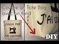 Coudre un Tote Bag avec un Fond - Tuto Couture DIY débutant