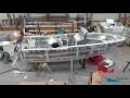 Construction d'un bateau aluminium Coryphene 22