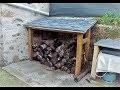 Fabrication d'un abri bois