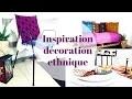 Inspiration Décoration Ethnique