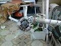 Modification d'un alternateur de voiture  en générateur a aimants permanents