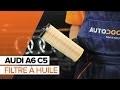 Comment remplacer des l'huile moteur et le filtre à huile sur une AUDI A6 C5 TUTORIEL | AUTODOC
