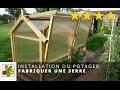 Fabriquer une serre en bois et polycarbonate