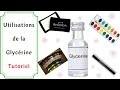 Pourquoi et Comment Utiliser de la Glycérine en Carterie ou Scrapbooking