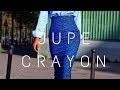 COMMENT REALISER LE PATRON D´UNE JUPE / COUDRE UNE JUPE DROITE //JUPE CRAYONTISSU  WAX