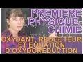 Oxydant, réducteur et équation d'oxydoréduction - Physique-Chimie 1ère - Les Bons Profs