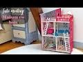 DIY - Tutoriel pour monter une maison en bois pour figurines - jouets - enfants !