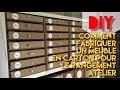 #42 - Meuble En Carton : Fabriquer Son Rangement Atelier