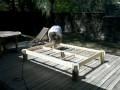Réalisation  d un lit en bois de recup