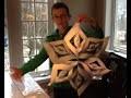 Comment faire un flocon de neige en papier pour Nöel