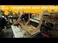 rangement pour mon bois - fabrication d'un rangement mobile en bois de palette - miniEpisode