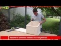 Fabriquer caisses de rangement enfant