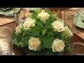 Art floral : un centre de table rond - Jardinerie Truffaut TV