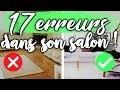 17 ERREURS COURANTES DÉCO SALON