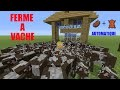 Tutoriel Ferme a Vache Automatique Minecraft Ps4
