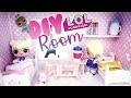 DIY La chambre pour poupées LOL Surprise + Salle de bain LOL Dolls surprise room
