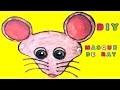 Masque de rat : Fabrication masque d'animaux pour Carnaval