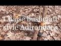 Comment faire une chaise bushcraft style adirondack