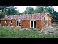 Incroyable, pour moins de 30 000 euros votre maison, chalet en bois