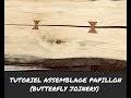 #Assemblage Papillon bois (Butterfly Joinery) Rabot et Affleureuse Bosch Pro 12 V #Builtwithbosch