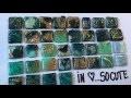 Magic Diy  vieux cd, faire des carrés de mosaïque pour le mixed media
