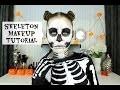 Tutoriel maquillage d'Halloween | Squelette