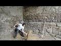 atelier d'artiste partie 4 - décaissement du sol