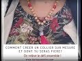 [TUTO] Collier perles en bois, inspiration MALA indien