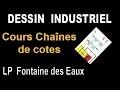 Dessin Industriel - Cotation Fonctionnelle - COURS