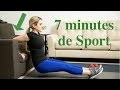 7 MINUTES d'exercices dans son canapé pour SCULPTER sa silhouette -7 minutes Workout du Programme 66